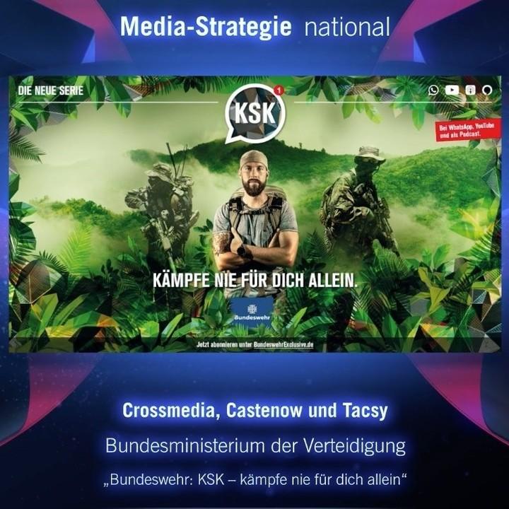 Deutscher Mediapreis für KSK